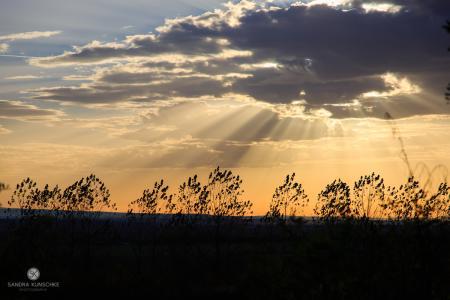 Tagebau Bergheim Sonne Wolken Schatten Kunschke