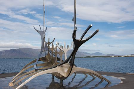 Sólfar, Sonnenfahrt, Reykjavík, Island