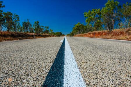 australia, australien, northern territory, strasse, road