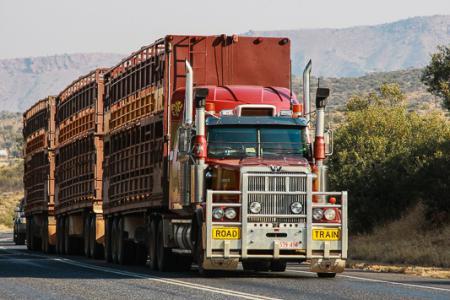 australia, australien, northern territory, alice springs, road train, roadtrain