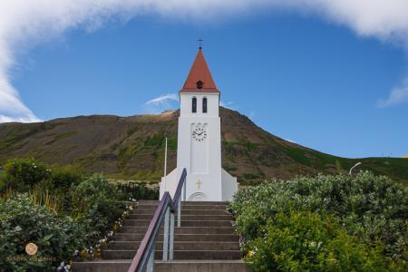Kirche, Siglufjörður, Nordisland, Island
