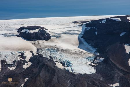 Langjökull, Gletscher, Lander Gletscher, Island