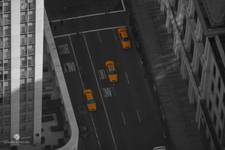 New York,  New York City, Yellow Cabs, Taxi